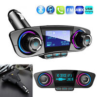 Bluetooth In-Car Wireless FM Transmitter USB Charger MP3 Car Kit High Quality