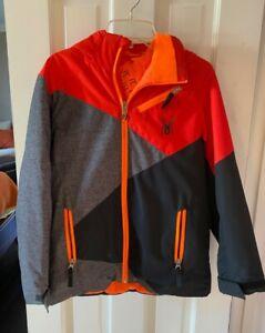 Spyder Youth Snow Jacket; Orange; size 12; Thinsulate - Gently Worn