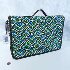 NEW Vera Bradley Ultimate JEWELRY ORGANIZER MakeUp BAG Cosmetic Case Rain Forest
