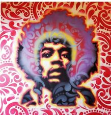 Jimi Hendrix psychedelic Airbrush Painting!