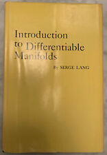 """""""Introduction to Differentiable Manifolds"""", Serge Lang, 1962 1st Ed. Hardcover"""