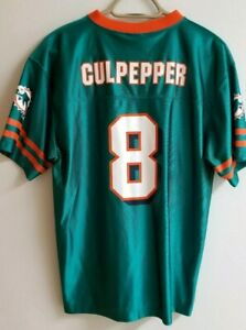 Miami Dolphins Jersey - Culpepper #8 - Size youth XL 18-20
