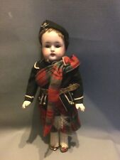"Antique Krammer & Reinhardt Simon Halbig K*R 12"" Scottish Doll"