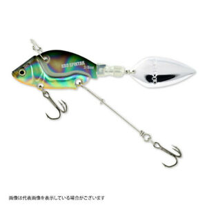 Deps KRO Spintail 3/8oz 44mm Bass fishing lure Oil holo From Stylish anglers