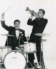 "SAL MINEO - JAMES DARREN - 10"" x 8"" b/w Photograph THE GENE KRUPA STORY 1959"
