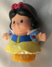 "Multi 2.5"" Fisher Price Little People Snow White Girl Doll"