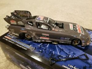 1:24 2008 ACTION NHRA FORD MUSTANG FUNNY CAR CASTROL CARBON FIBER JOHN FORCE NIB