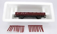 Roco HO 4306 Bolster Wagon with stakes, Rr 20, Epoch 3, DB, mint, boxed