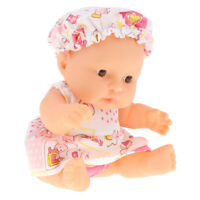 5 Inch Adorable Soft Body Baby Doll Toy w/ Clothing for Kids Boys Girls