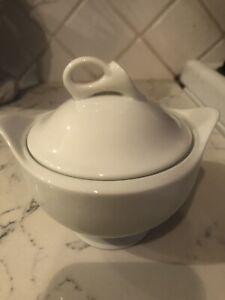 Mikasa white 'classic flair' beautiful sugar bowl