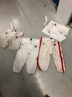 GAME WORN USED CLEMSON TIGERS NIKE FOOTBALL PANTS (1) SIZE 32
