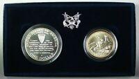 1995-P&D World War II 50th Anniversary Commemorative Two Coin Set