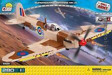 Cobi Toy blocks Supermarine Spitfire Mk. IX Small Army 5525 plane bricks