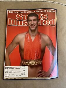 Sports Illustrated 8/25/08 Olympian Michael Phelps- The Alltime Olympian