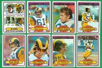 1980 TOPPS FOOTBALL LOS ANGELES RAMS TEAM SET NM    YOUNGBLOOD  FERRAGAMO