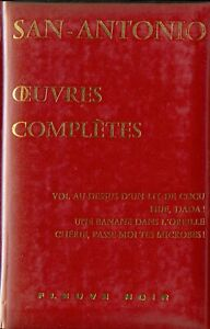 """SAN-ANTONIO - OEUVRES COMPLETES  """" Volume XX (20) """""""