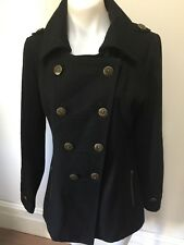 SZ 10 S WISH WOOL COAT JACKET *BUY FIVE OR MORE ITEMS GET FREE POST