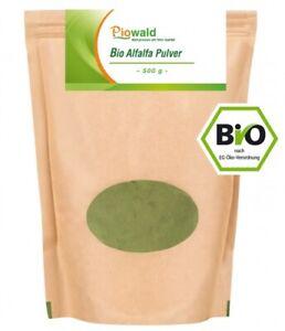 BIO Alfalfa Pulver - 500g (39,90€/kg)