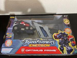 Hasbro Transformers Energon Optimus Prime Action Figure Open Box