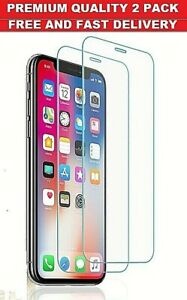 Screen Protector for New iPhone 11,11 Pro,11 Pro Max Tempered Glass Buy 1 Get 1