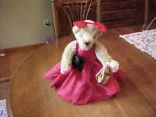 MUFFY VANDERBEAR ~ FLUFFY DRESSED IN RED CARPET GOES TO THE PAWSCARS HTF