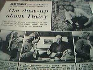 newspaper cutting 1956 dust up about daisy shirley burniston