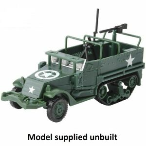 WWII ALLIED M3 MORTAR Half Track - MODEL KIT - 1/72 scale - M3HT1