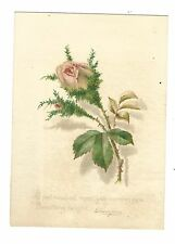 Old Trade Card Lazells' Perfumes New York Perfume Jockey Club Rosebud Thompson