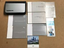2007 NISSAN MURANO OWNERS MANUAL WITH NAVIGATION