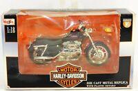 Maisto Series 10 Harley Davidson 2000 XL 1200 Sportster Custom 1:18 Scale #2
