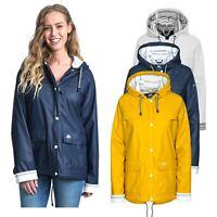 Trespass Womens Waterproof Rain Jacket Hooded Raincoat Ladies XXS-XXL