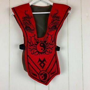 G.I Joe Snake Eyes Muscle Child Costume Hard Mask 6 8 NIP