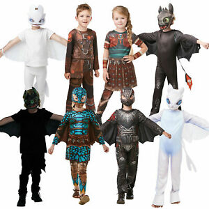 Rubies Kids Official How To Train Your Dragon Hidden World Fancy Dress Costumes