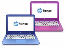 New HP Stream 11 13 Blue Pink Laptop, 2GB RAM 32GB SSD+$25 GiftCard