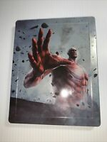 Attack on Titan 2 Steelbook Case only Steel Book PS4 XBOX ONE No Game Exclusive