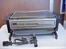 VINTAGE REGAL STAINLESS STEEL THE GRILLER SMOKELESS INDOOR GRILL