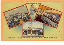 Advertising Postcard - Joe Di Maggio Restaurant San Francisco Golden Gate Expo