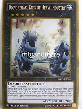 YU-GI-OH - 1x digvorzhak, King of Heavy Industry-pgl3-PREMIUM ORO SERIE 3