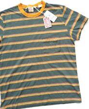 LEVIS LVC Vintage Clothing 1950s Pocket T Shirt Striped Size M
