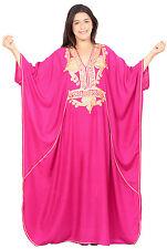 Moroccan Caftan Plus size Handmade Kaftan Women Beach Summer Long Breathable