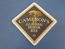 Beer Bar Coaster: Award Winning CAMERON'S Brewing Co ~ Oakville, Ontario, Canada