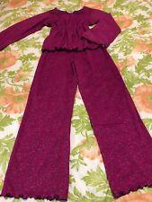 American Girl Pjs Pajama Medium Long Sleeve