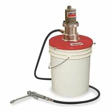 Lincoln 4489 Value Series 40:1 Single-Acting Grease Pump for 25 to 50 Lb.Bucket