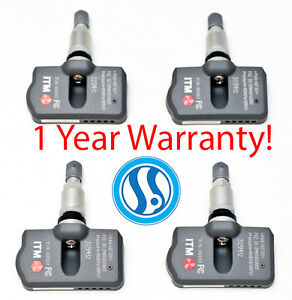 Volvo S60 2004-2015 4 TPMS Tire Pressure Sensors 315mhz OEM Replacement
