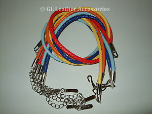 Ladies Womens Girls Faux Leather Skinny Thin Braided Belt With Chain 17 Colors