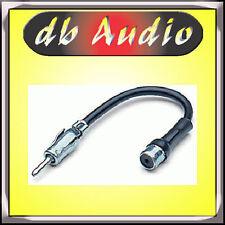 Phonocar 8/529.1 Cablaggio Adattatore Antenna DIN ISO Prolunga Connettore Radio