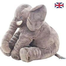"16""Large Big Soft Pillow Plush Stuffed Elephant Animal Toy Teddy Bear kids Play-"