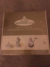 Disney 2000 Membership Kit Snowbabies Friendship Club  Figurine