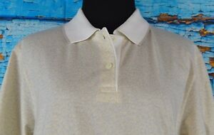 Haley USA Women's Polo Size Small Tan Golf Outdoor Short Sleeve S