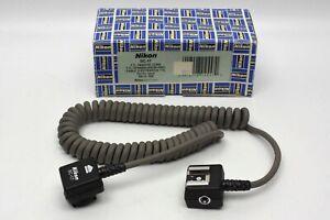 Nikon SC-17 off-camera TTL remote cord for use w/ Nikon speedlight flash systems